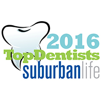Suburban Life Top Dentist 2016